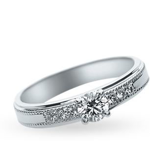 ENGAGEMENT RING LPP543ED / L'or