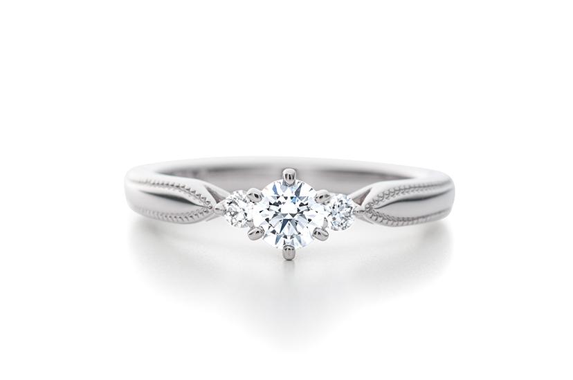 エクセルコダイヤモンドの婚約指輪_エリザベート