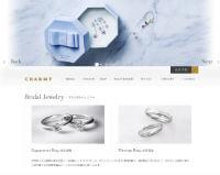 CHARMY公式ホームページのキャプチャ画像