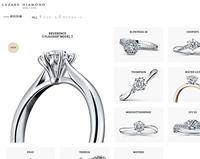 ラザールダイヤモンド公式ホームページのキャプチャ画像