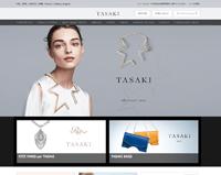 タサキ公式ホームページのキャプチャ画像