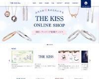 THE KISS公式ホームページのキャプチャ画像