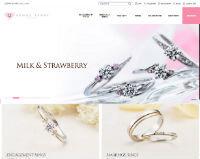 ヴィーナスティアーズ公式ホームページのキャプチャ画像