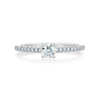 DB CLASSIC PAVÉ SOLITAIRE RING