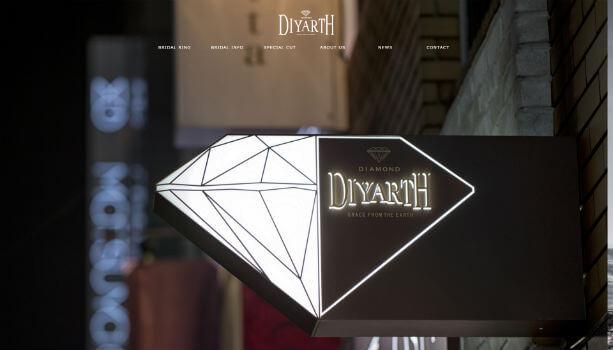 DIYARTH公式HP