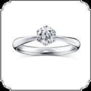 ラザールダイヤモンドの婚約指輪