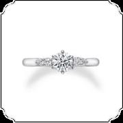 ダイヤモンドシライシの婚約指輪