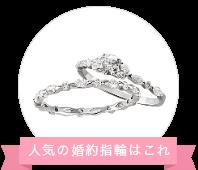 TAKEUCHI総本店の婚約指輪、トランスペアレント