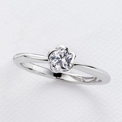 婚約指輪 Q3546