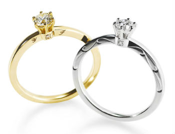 LUMIERE SOLITAIRE RING