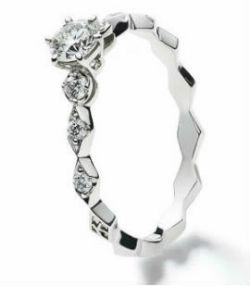 LOSANGES ENGAGEMENT RING