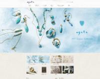 ageta公式ホームページのキャプチャ画像
