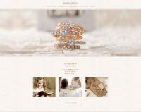 アムールアミュレット公式ホームページのキャプチャ画像
