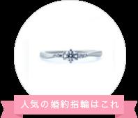 4°Cアクアニティ(ウエーブライン)サイドメレダイヤモンド